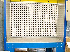 CHAMBER for applying paint coatings over test panels